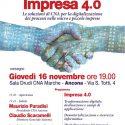 Giovedì 16 Novembre Impresa 4.0: le soluzioni di CNA – SIXTEMA per la digitalizzazione dei processi nelle micro e piccole imprese