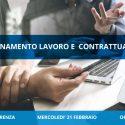 Videoconferenza Lavoro e Contrattualistica 21 febbraio