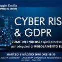 CYBER RISK & GDPR. Sixtema al convegno CNA di Reggio Emilia