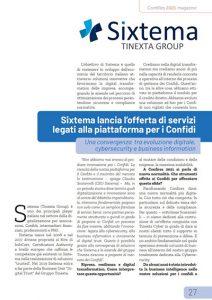 Articolo Sixtema per i Confidi